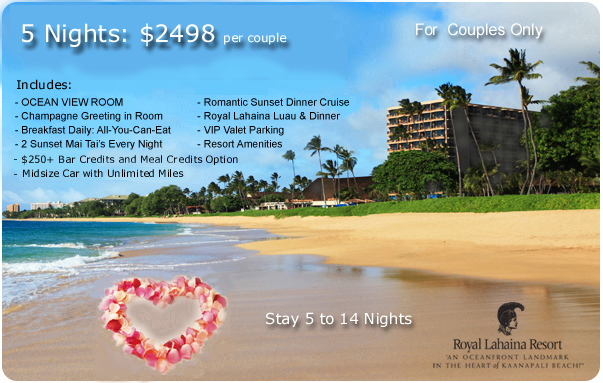 Hawaii All Inclusive Romance Special